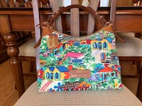 Dooney and Bourke Tropical Sandbar purse Hampton, 23666