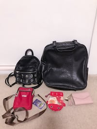 Bundle Lot of Faux Leather Backpacks, Purses, Coin Pouches, & Wallets Garden Grove, 92840