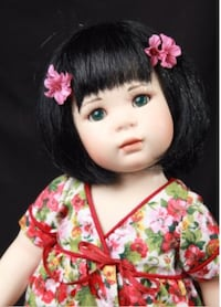 """May Ling ""doll. Very cute& in original box  460 km"