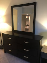 brown wooden dresser with mirror Arlington, 22202