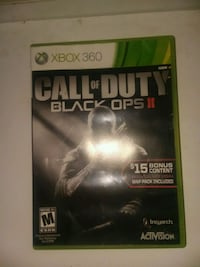 Call of Duty Black Ops 2 Xbox 360 game case Los Angeles, 91331
