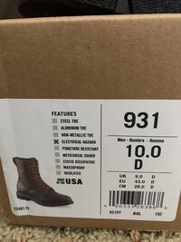 Red Wing lace up boots Garden City, 67846