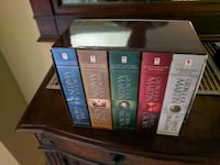 Game of thrones complete book set