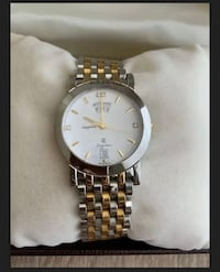 Accurate Watch LEGATO PLUS 22k Gold Plated