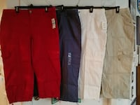 Size 16 Womens Capri pants by Style & Co all 4 pairs for $50 Palmetto