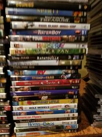 assorted DVD movie case lot Yorkville, 60560