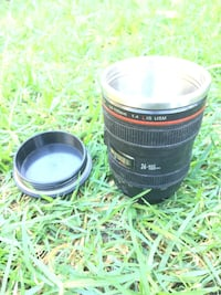stainless steel camera lens mug Alhambra, 91801