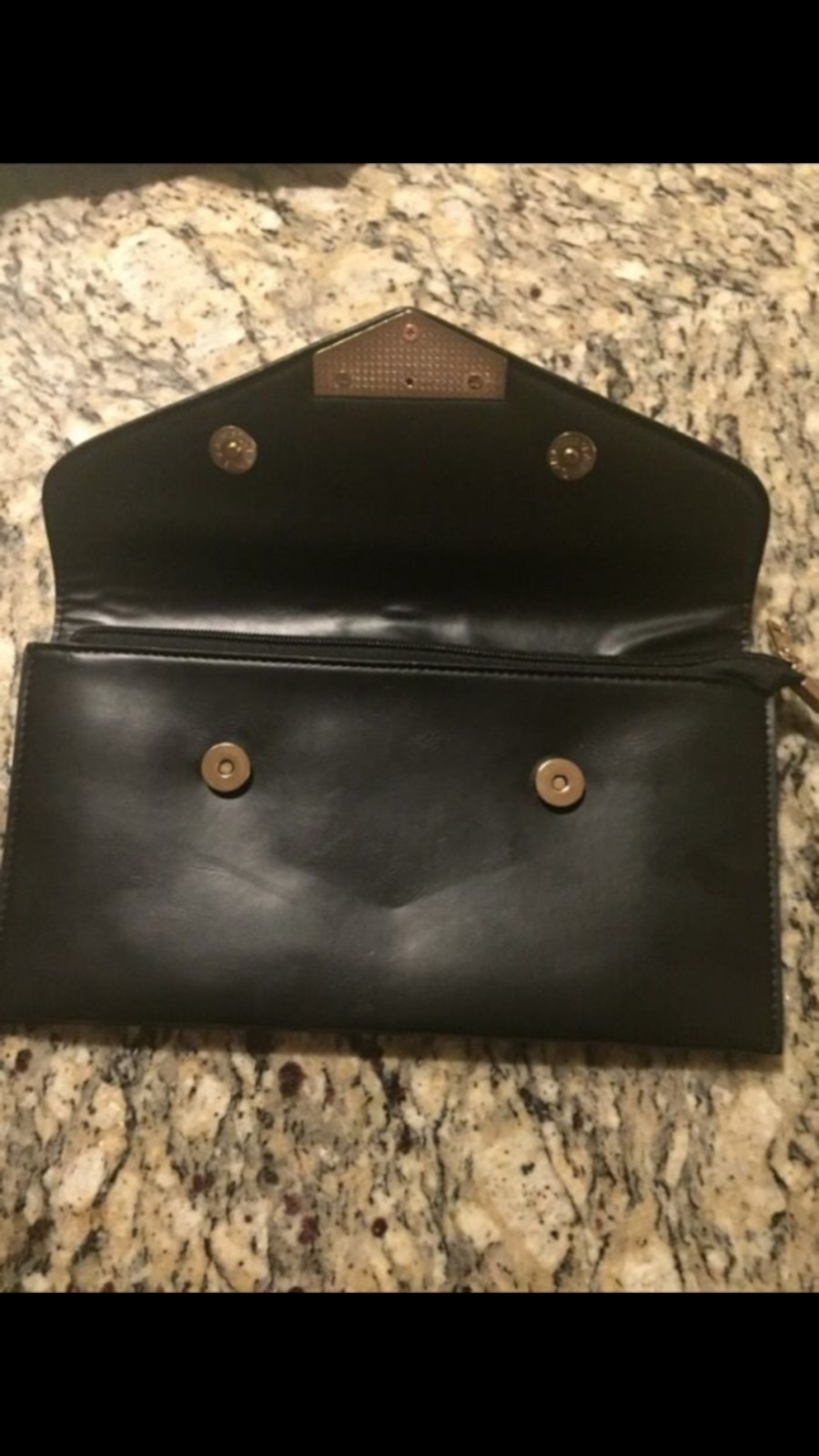 Leather Clutch Wallet - Olympia Heights