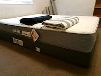black and white bed mattress San Jose, 95112
