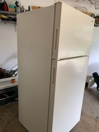 white top-mount refrigerator Irving, 75060
