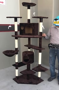 New in box large 7 feet tall cat tree scratching post scratcher pet furniture Whittier, 90605