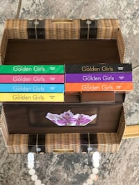Golden Girls Limited Edition DVD Set with playing cards.
