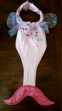 Girls costume/play dress-up mermaid tail with sound