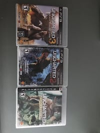 PS3 games uncharted series Calgary, T2P 0E4