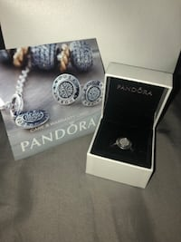 silver-colored Pandora ring Burlington, L7M 4E7