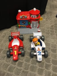 Caillou cars and house toys  Langley, V1M 2H6