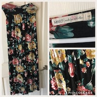 Beautiful floral maxi dress  Surrey, V3T 2R5
