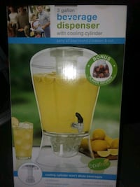 Beverage dispenser. 3 gal