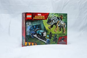 LEGO Marvel Black Panther Rhino Face-Off by the Mine 76099