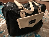 black and white leather shoulder bag Alexandria, 22315