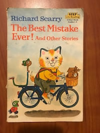 The Best Mistake Ever! and Other Stories by Richard Scarry book Dover, 44622