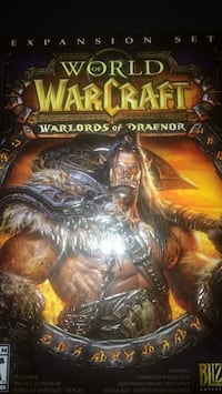 World of Warcraft Warlords of Draenor expansion set Toronto, M9R 1T4