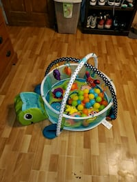 Baby activity and ball pit
