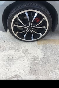 22inch Forte Rims with tires