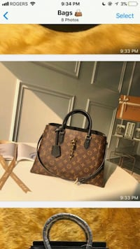brown monogrammed Louis Vuitton leather handbag Brampton, L6Y 4S5