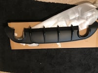 Dodge charger rear diffuser