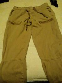 Boys brown joggers sizes M Lowell, 72745
