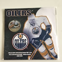 2009-2010 Royal Canada Mint Oilers Commemorative 50-cent Set Fort McMurray, T9J 1G5