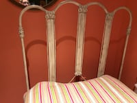 Antique adorable twin cast iron bed with mattress.  Princeton, 01541