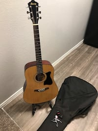 Ibanez guitar with stand, case, tuner, etc. Denton, 76209