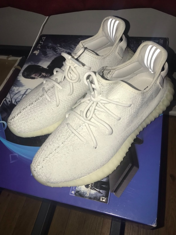 bc6047a4d Used pair of white adidas Yeezy Boost 350 with box for sale in New York