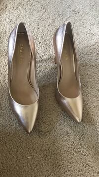 Rose gold heels - small scuffs