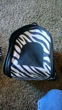 black and white zebra print backpack Des Moines, 50315