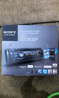 Sony car audio system  Fort Belvoir, 22309
