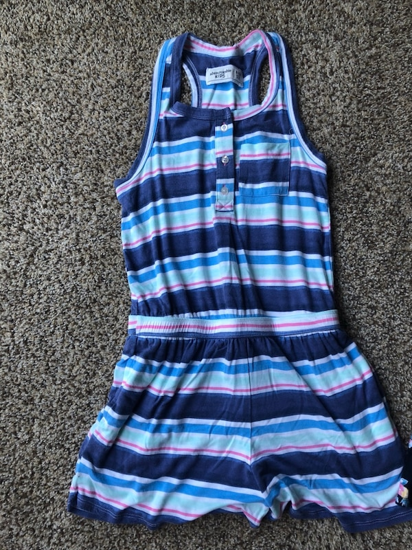 3b695f6fdb2d Used Abercrombie Kids Rompers And Skirt (Size 9 10)