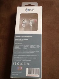 black and gray LG Bluetooth earphones box Edmonton, T5T 1A3