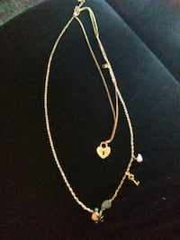 Gold plated necklace Killeen, 76541