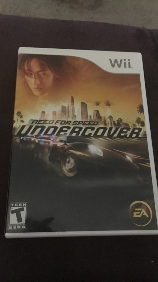 Used Need For Speed Undercover Wii Game for sale in Killeen