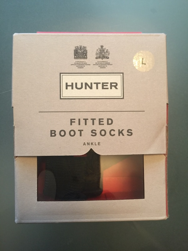 Black Hunter fitted boot ankle socks a3d288b7-ce23-4c89-a235-e1e0469627fe
