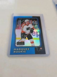 Mike Vecchione Rookie Hockey Card