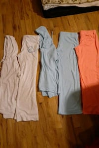 Jacket and pant sets $30 for all or $10 each set or $5 individual