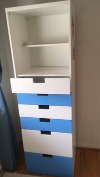 Baby changing table 4-drawer chest