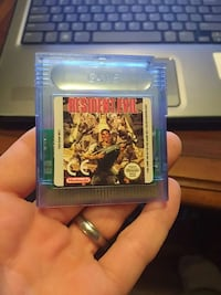 Nintendo Resident Evil game cartridge