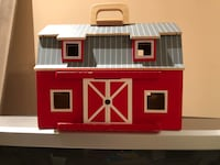 Fold & Go Portable Wooden Red Barn Vaughan, L4J 8W4
