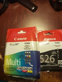 New Canon genuine ink for Pixma printers 526 set or 4 ..good deal  Toronto