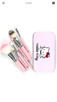 white and black makeup brush set San Francisco, 94103